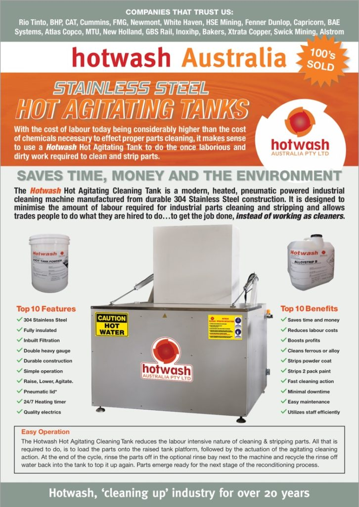 Stainless Steel Hot Tanks